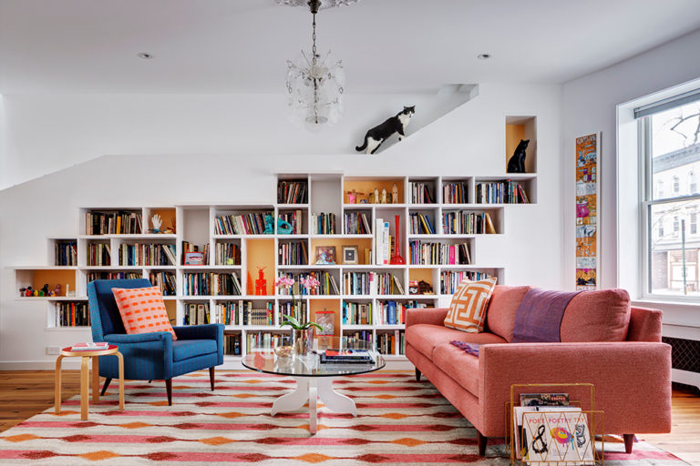 Cat-Friendly House for Booklovers